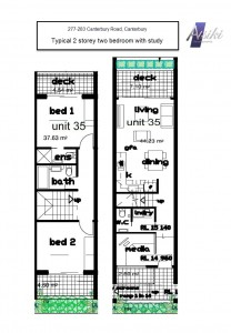 277-283_Canterbury_Road,Canterbury_floor_plan_2_bedroom_2_storey